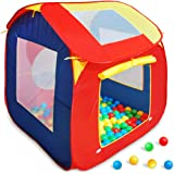 Kids Ball Pool Childrens Ball Pit with 200 Balls Pop Up Play Tent - Indoors and Outdoors