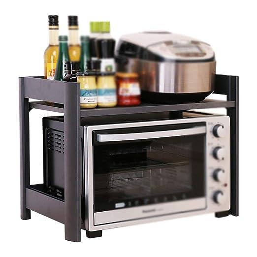GFFTYX Repisa de Cocina - Horno de microondas Multifuncional ...
