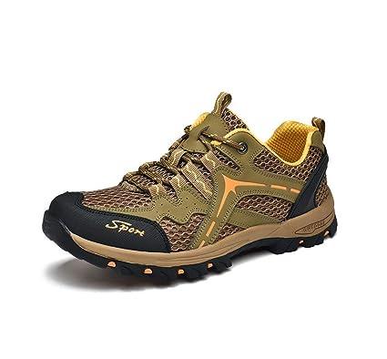 763d8a5a255 Amazon.com : Men Hiking Shoes, Outdoor Waterproof Sneaker ...