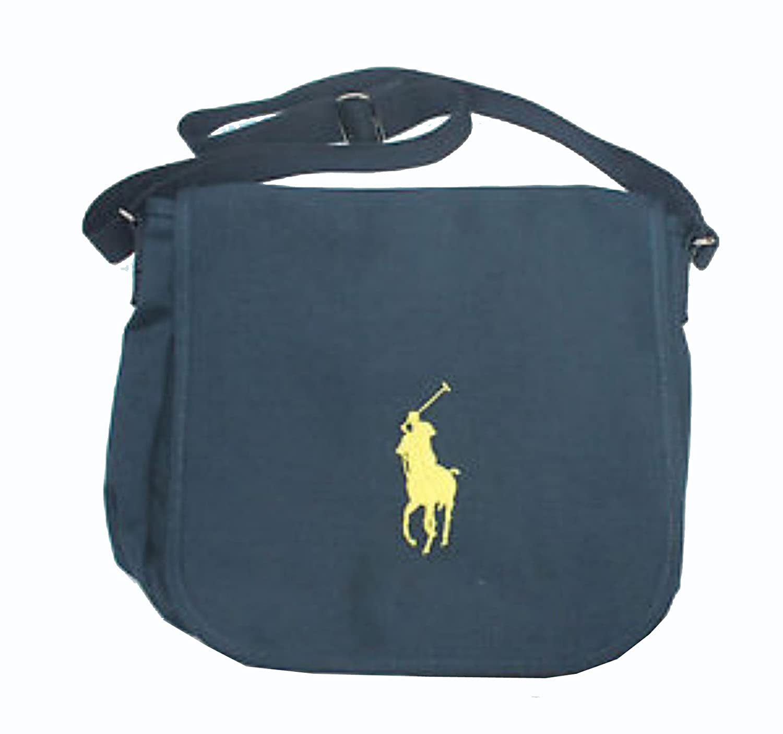 db02e2d28ad Polo Ralph Lauren Kids Boys Girls Record School Messenger Shoulder bag TS26  (One Size)  Amazon.co.uk  Shoes   Bags