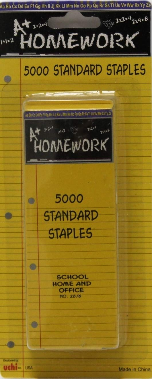 Staples Standard size #26 5000 Boxed Case Pack 48
