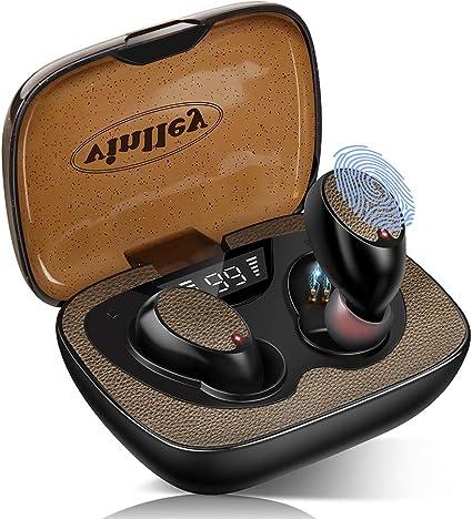 Auriculares Bluetooth 5.0 Cascos Inalámbricos Impermeable TWS HiFi ...