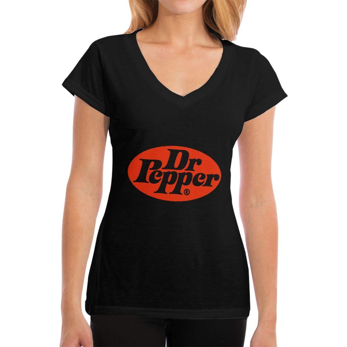 T-shirt For , Dr Pepper Short Tee Summer T-shirt For Work Sports