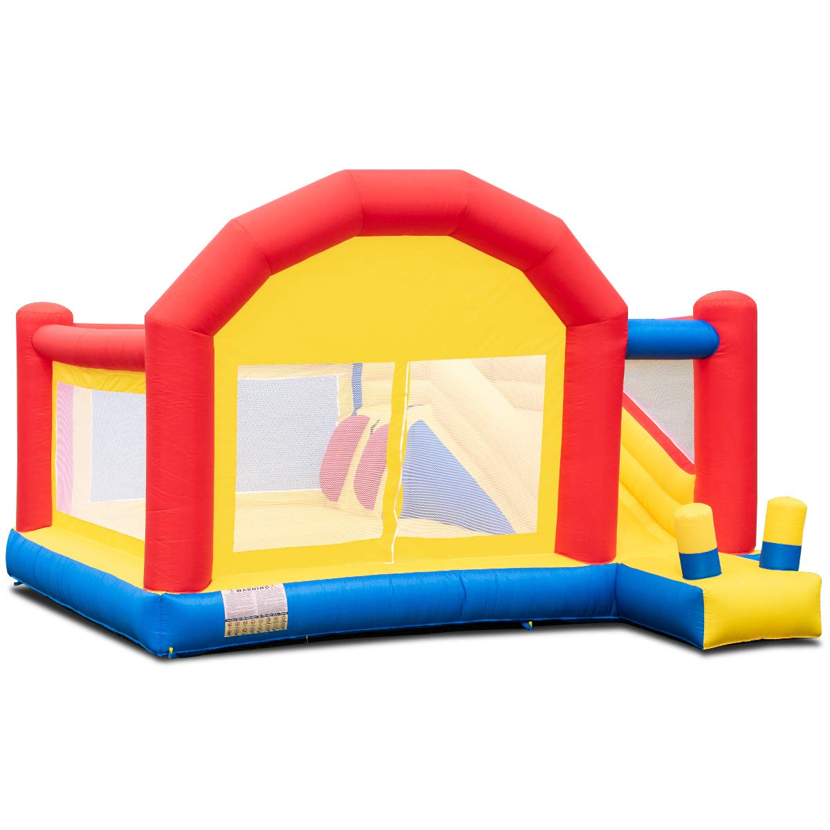 Costzon Kid Bounce House, Inflatable Slide Bouncer Outside Castle Bounce Jumper Without Blower by Costzon (Image #1)