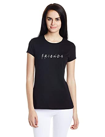 04d687cf Melcom Cotton Friends t Shirt for Women: Amazon.in: Clothing ...
