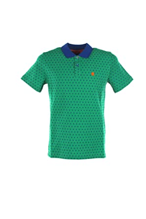 Gallo Polo Uomo XL Verde/BLU Ap508193 Primavera Estate 2019 ...