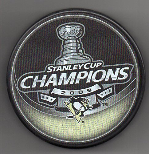 Pittsburgh Penguins 2009 Stanley Cup Champions Official NHL Puck + FREE Puck - Stanley Cup 1991