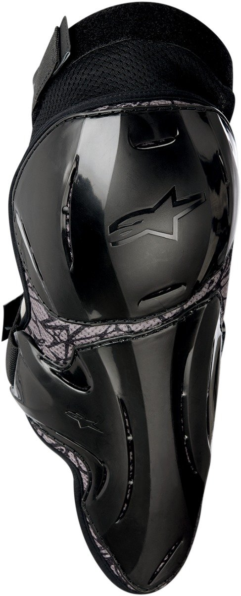 Alpinestars Vapor Adult Knee Guard Off-Road Motorcycle Body Armor - Black/Large/X-Large by Alpinestars (Image #1)