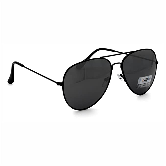 Occhiali Da Sole Uomo Marca Isurf Piu' Modelli Disponibili Con Montatura Nera Lente Nera / Neri (mod Squarest Man) RrqOFM