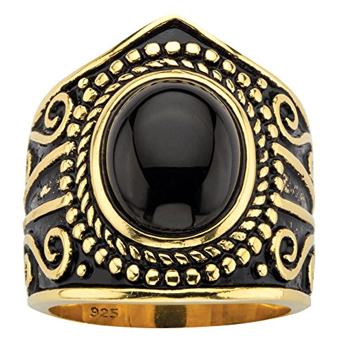 Seta Jewelry Simulated Black O