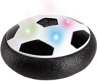 gancunsh Air Power Jeu de But de Football pour Enfants avec Pare-Chocs en Mousse et lumières LED pour activités intérieures et extérieures