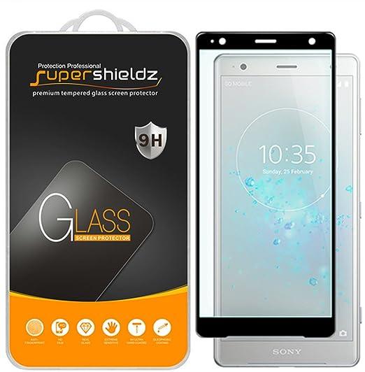 Amazon Supershieldz For Sony Xperia Xz2 Compact Tempered Glass