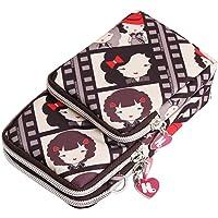 Cckuu Women Mini Crossbody Bag Cellphone Pouch Wrist Small Handbag Coin Purses