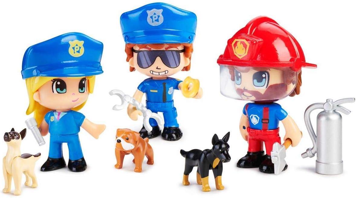 Pinypon Action - Figura Emergencia con Perro, Multicolor (Famosa ...