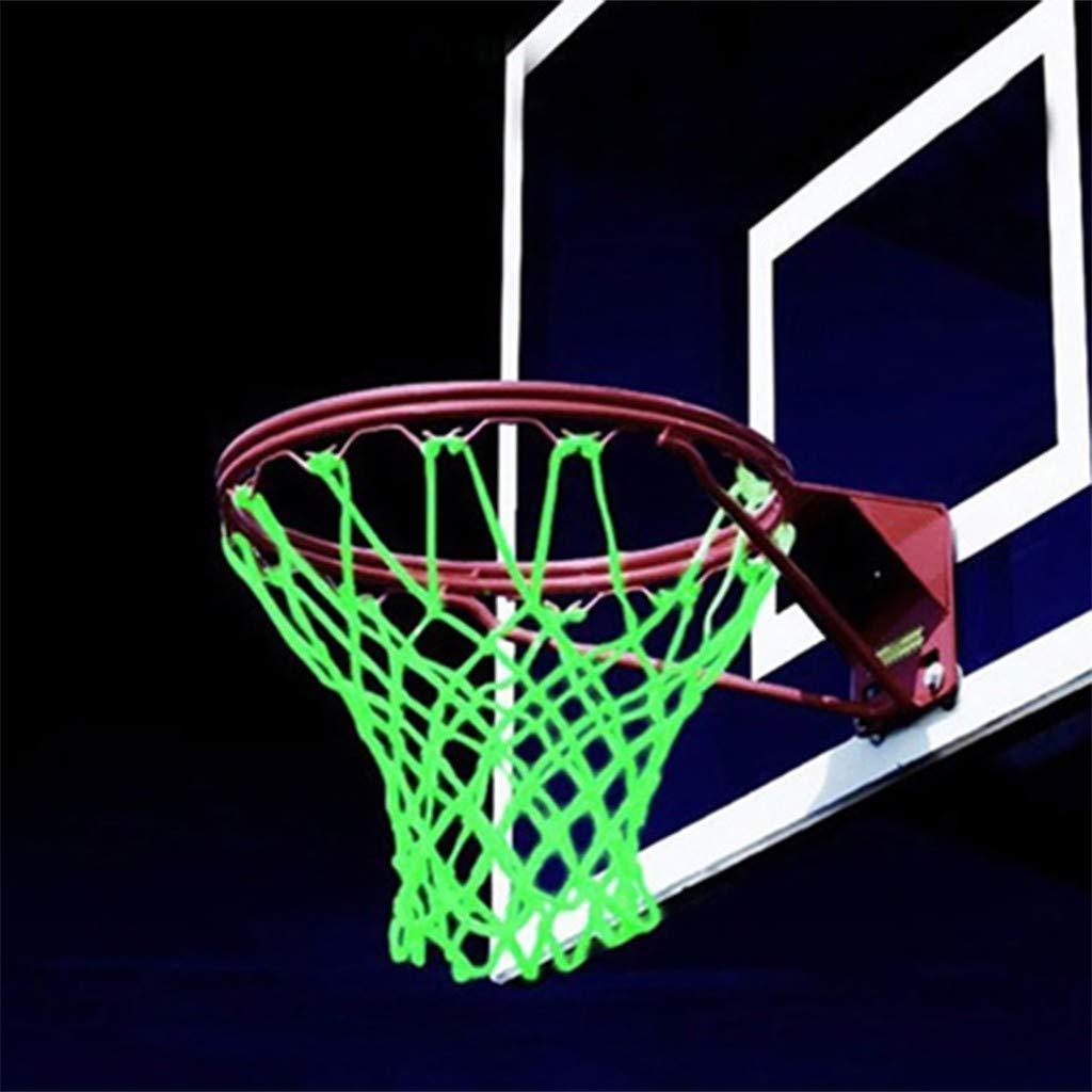 Fluoreszenz - Red de baloncesto para exteriores (brilla en la ...