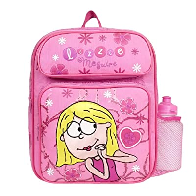 Small Backpack - Lizzie McGuire - with Water Bottle: Clothing