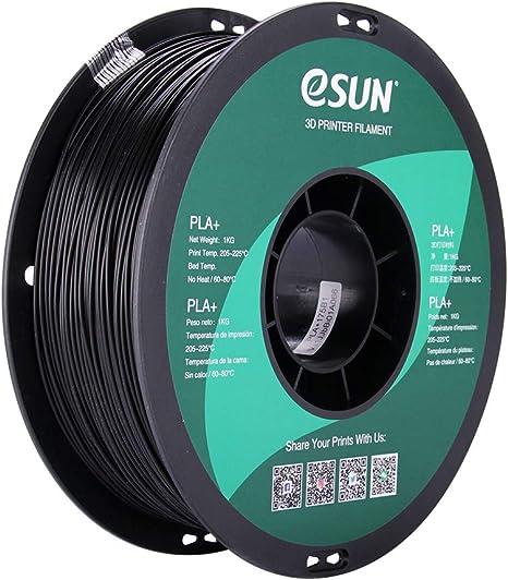 3D Printer Filament 1KG Spool eSUN 1.75mm PLA Pro 2.2lbs PLA+ Luminous Blue 21 Colors to Choose