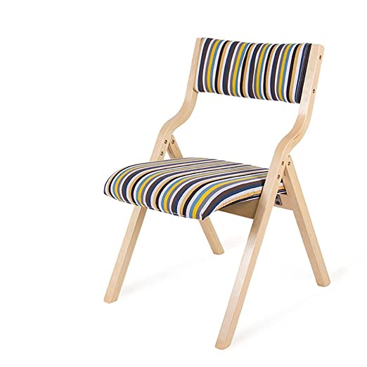 Chair QL sillones plegables Silla de comedor de madera ...