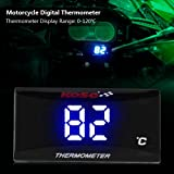 Universal Motorcycle Digital Thermometer Instrument