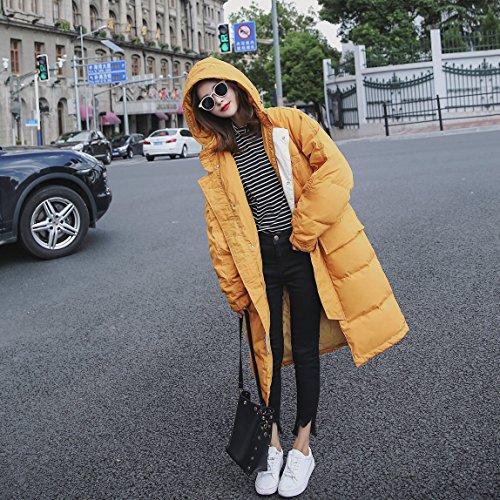 Xuanku Long Sleeve Cotton Coat Hooded Jacket Photo Color