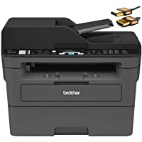 Brother MFC L2700 Series Compact Wireless Monochrome Laser All-in-One Printer - Print Copy Scan Fax - Mobile Printing…