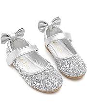 Bumud Girls' Mary Jane Ballerina Flat Shoes