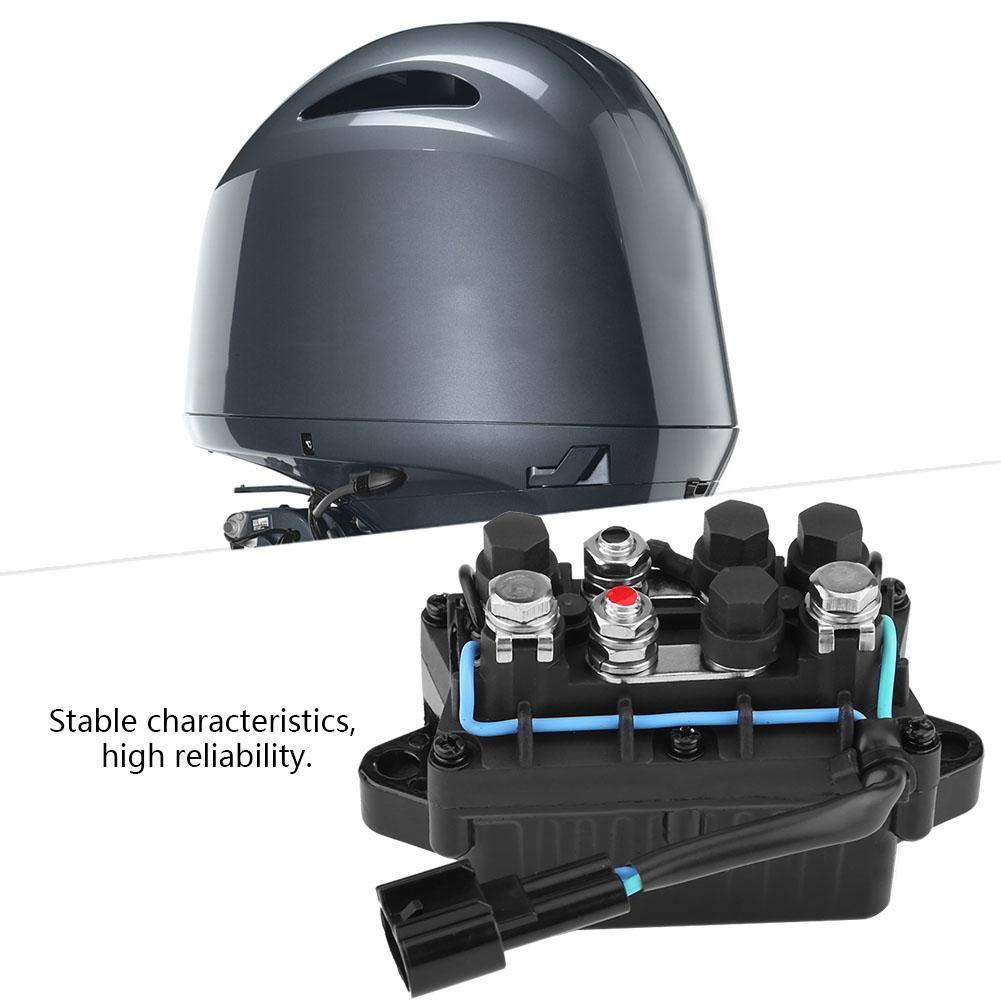GOTOTOP Rel/è Assetto Power Trim E Rel/è in Scatola per Motore Fuoribordo Yamaha
