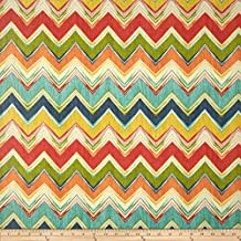 Swavelle/Mill Creek Indoor/Outdoor Culloden Chevron Fiesta Fabric By The Yard