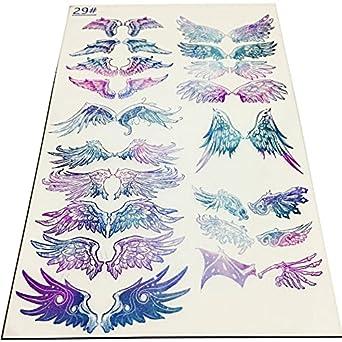 Amazon Lulu Cute レジン封入用 イラストシート 天使の羽1 透明シート