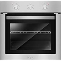 Empava 24 in Electric Single Wall Oven with Basic Broil/Bake Functions Mechanical Knobs Control in Stainless Steel EMPV-EOA01, EOA01