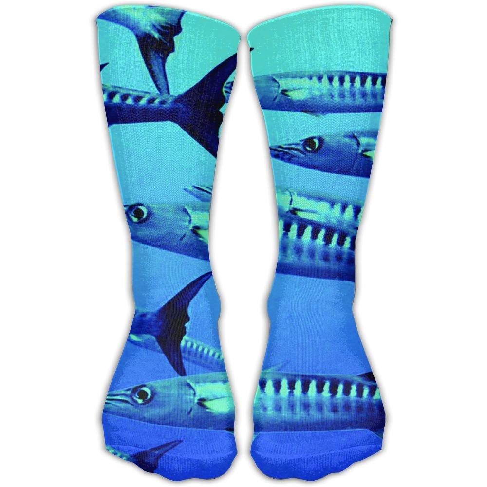 Pike Fish Printed Mens//Womens 11.8 Inch Ankle Crew Socks