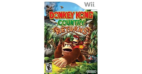 Donkey Kong Country Returns (Wii) [Importación inglesa]: Amazon.es ...