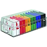 Holds 600 vivid color PHM-101CM Nakabayashi minute business card box (japan import)