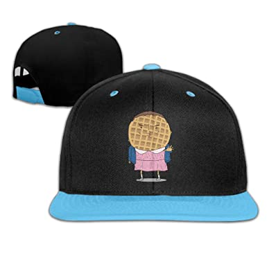 7d34ca5d681 Stranger Things Eleven Waffles Youth Unisex Contrast Color Cap Baseball  Hats (4 Colors)