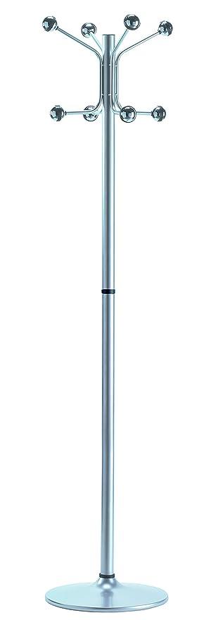 Cilindro H-12 9006 Perchero, Metal, Gris, 37x37x175 cm ...