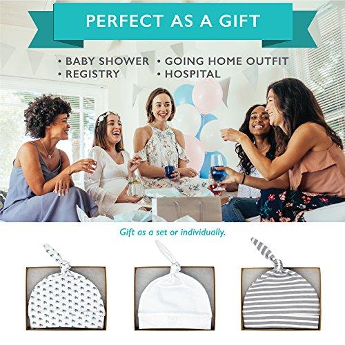 a623dcc0908 Newborn Hats For Boys Girls Soft 100% Organic Cotton Infant Baby Beanie  Hospital Caps (