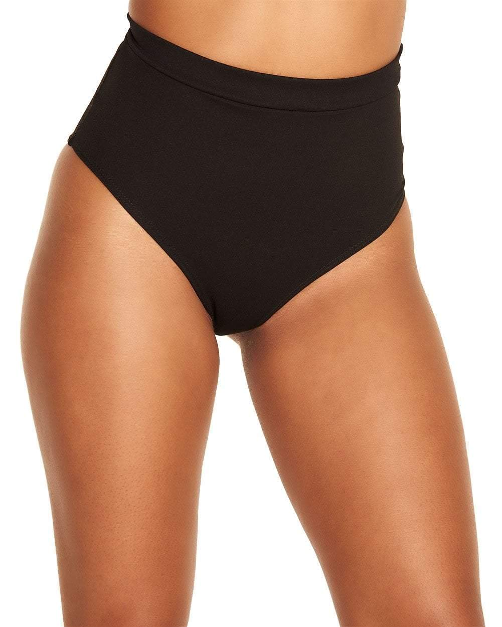 iHeartRaves Black Ultra Hi-Rise Booty Shorts Dance Bottoms (1X)