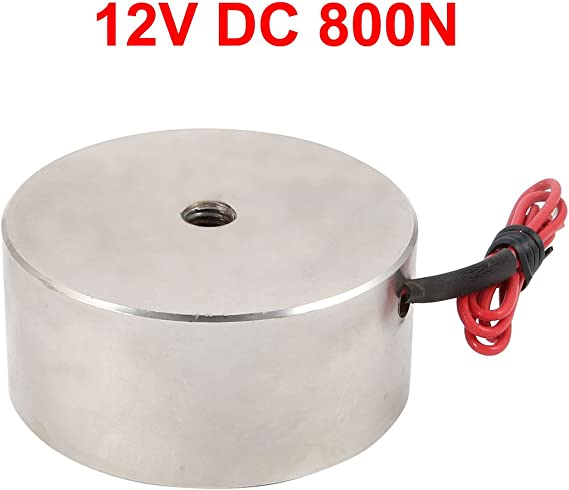 uxcell 12V DC 800N Electric Lifting Magnet Electromagnet a16101700ux0265