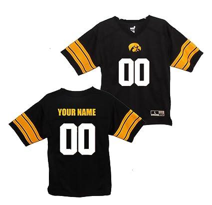 Amazon.com   Gen2 Custom Youth Iowa Hawkeyes Football Jersey (Youth ... 42cbf023d