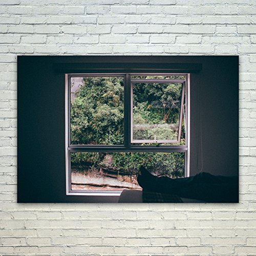 Westlake Art Poster Print Wall Art - Window Property - Moder