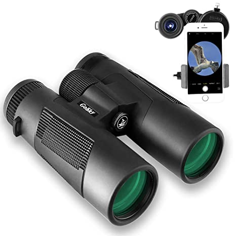 Gosky Optics Bird Watching 10x 42mm Prism Binocular Waterproof