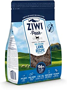 ZIWI Peak Air-Dried Cat Food – All Natural, High Protein, Grain Free & Limited Ingredient with Superfoods (Lamb, 2.2 lb)