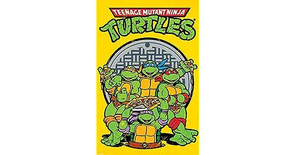 Amazon.com: Póster de las Tortugas Ninja de Pyramid ...