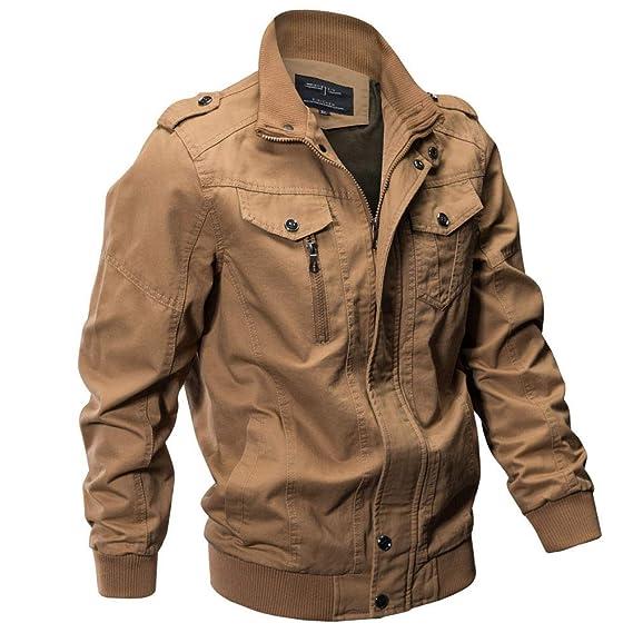 Amazon.com: Men Coat Military Bomber Tactical Breathable Light Windbreaker Plus Size Jacket: Clothing