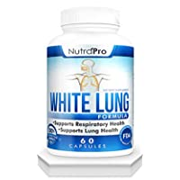 White Lung by NutraPro - Lung Cleanse & Detox.Support Lung Health. Supports Respiratory...