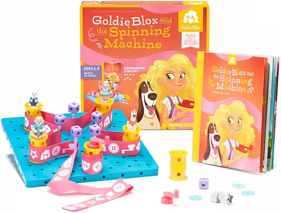 Goldieblox - Juego de construcción (BT001): Amazon.es: Juguetes y ...