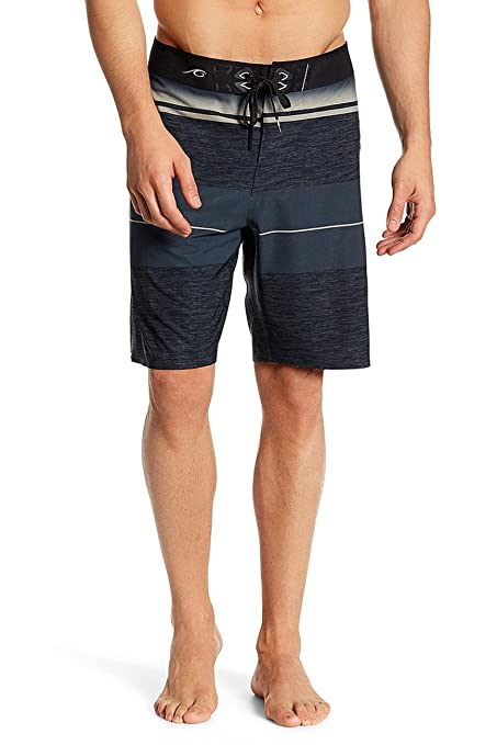 bc250a70f2 Silwave Men's Beach Exotic Seamless Breathable Boardshort, Charcoal, ...