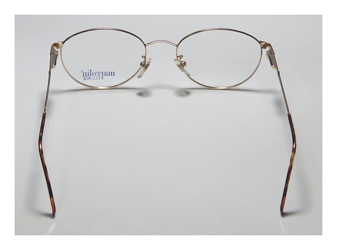 Marcolin Village 35 Mens//Womens Designer Full-rim Flexible Hinges Classy Hip Made In Italy Eyeglasses//Spectacles