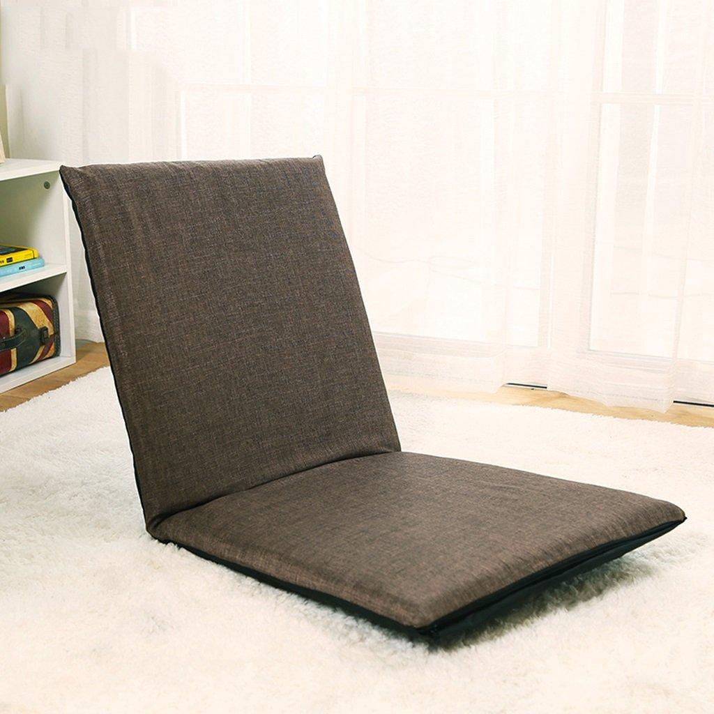 GHM Campingstuhl Boden Stuhl Faltbare Bucht Fenster Stuhl Einzel Sofa Sandy Beach Freizeit Recliners 5 Dateien Einstellbar