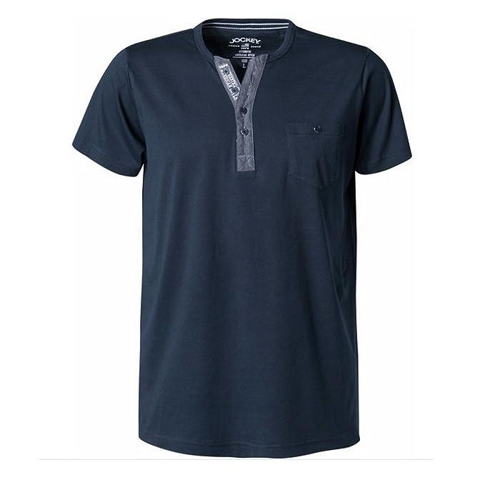 Jockey - Camiseta de pijama - Básico - para hombre azul azul XXX-Large